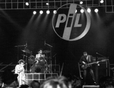 PiL 1984 live at New York, Beacon Theatre, November 2nd 1984 © Greg Fasolino 1984