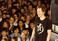 PiL live at San Francisco, Galleria November 5 1982 © Maureen Baker