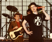 PiL live at Pasadena, Convention Center, November 7 1982 © Maureen Baker