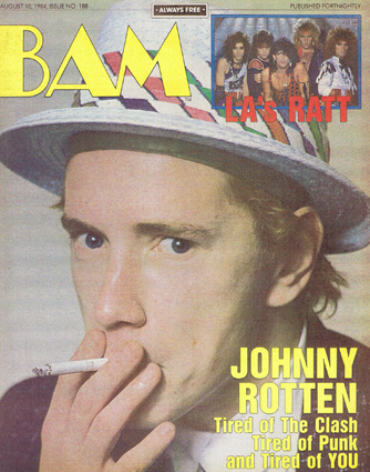 BAM magazine, August 10th 1984