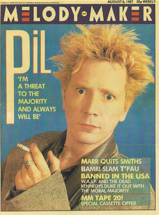 Melody Maker, August 8th 1987