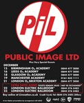 December 2009 UK Tour Poster / Advert