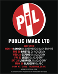 July 2010 UK Tour Poster / Advert