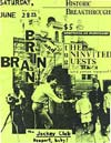 PiL - Brian Brain - Newport (Kentucky), Jockey Club, USA 28.6.85 Poster / Flyer